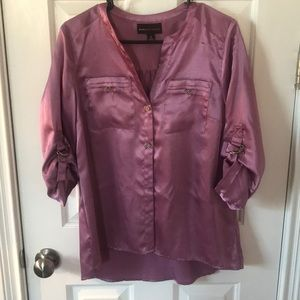 Pinky purple blouse
